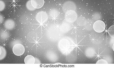 gray bokeh light loopable background