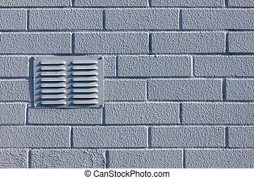 brick wall with ventilation