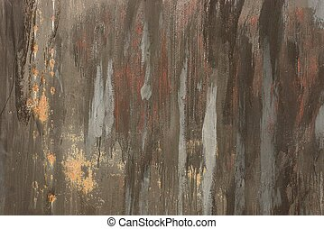 gray brown color texture of paint on the wall