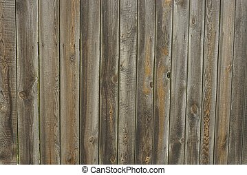 Gray brown wood background of boards