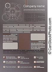 gray business background. silver card