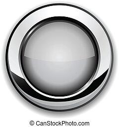 Gray button.
