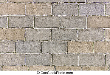 gray cement brick wall abstract for background