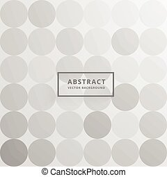 gray circles background pattern design
