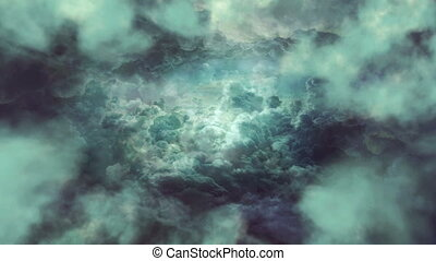 Gray Clouds Background