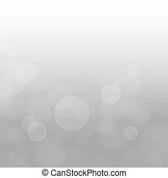 gray clouds circles bokeh