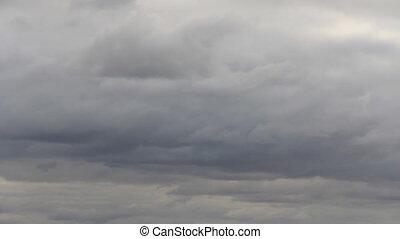 Gray cloudscape