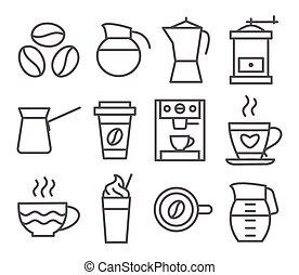 Coffee Line Icons