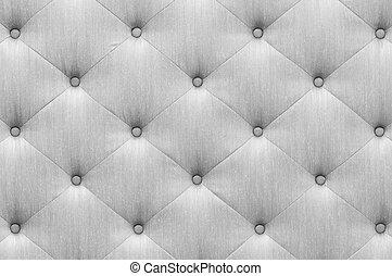 Gray color sofa cloth texture - Close up vintage style gray...