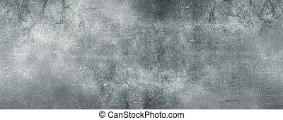 Gray concrete wall, abstract grunge texture background