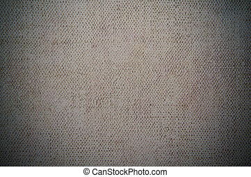 gray dark canvas texture or background