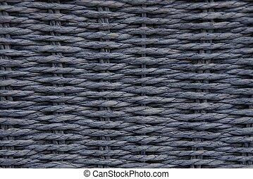 gray dark wooden texture of a wicker basket
