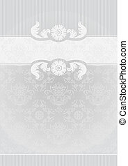 Gray Decorative Frame