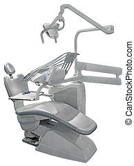 Gray Dental Chair