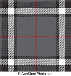 Gray fabric texture check seamless
