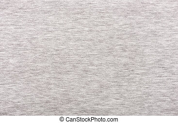 Gray fabric texture. Clothes background. Close up