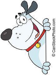 Gray Fat Dog