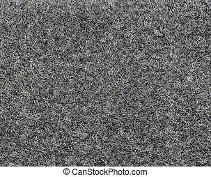 Gray felt texture background