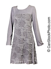gray female dress
