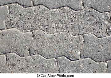 gray figure sidewalk slab texture #1