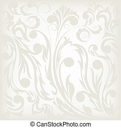 gray floral background, which can be used as seamless