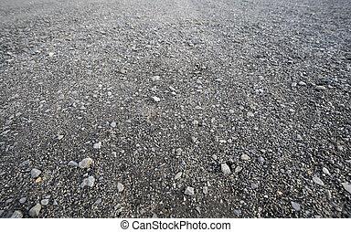 gray gravel road for backgrounds