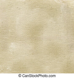 gray and brown grunge patchy abstract on white cotton artist canvas, self made by photographer