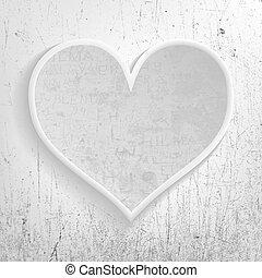 Gray heart memories