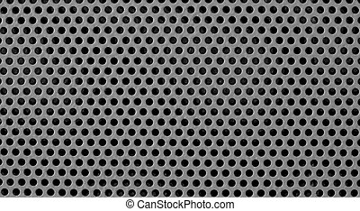gray industrial grid background