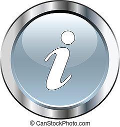 Gray information icon