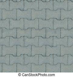 Gray Paving Slabs. Seamless Texture. - Gray Paving Slabs,...