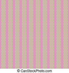 Gray pink Vintage Stripes Pattern