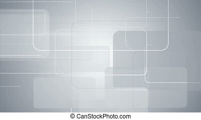 gray rectangular shapes seamless loop background