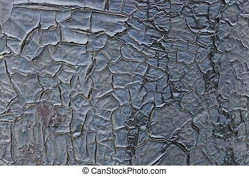 gray resin texture in cracks on the wall
