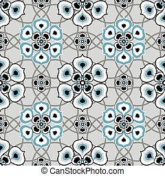 Gray seamless pattern