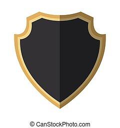 gray shield protection decoration shadow