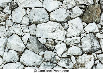 Gray stone wall background