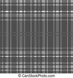 gray Tartan seamless background. vector illustration. 10 eps