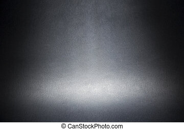 gray texture abstract background - spotlight on a gray...