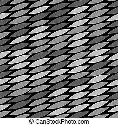 Gray vector snake skin pattern