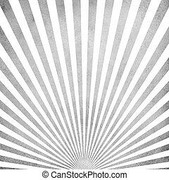 Gray vintage ray pattern background