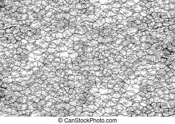 Gray watercolor pattern on white background