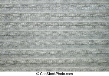 gray window shade for background texture