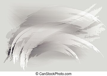 Gray with brush abstract background
