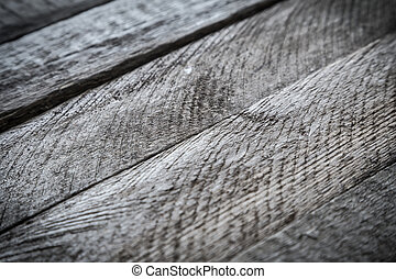 Gray wood diagonal plank texture. Abstract background