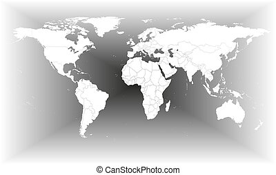 Gray world map vector eps vector search clip art illustration gray world map vector gumiabroncs Image collections