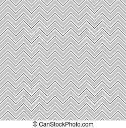Gray Zigzag Lines Seamless Pattern. Vector illustration