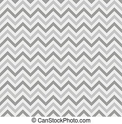 Zigzag Lines Seamless Pattern. Vector - Gray Zigzag Lines...