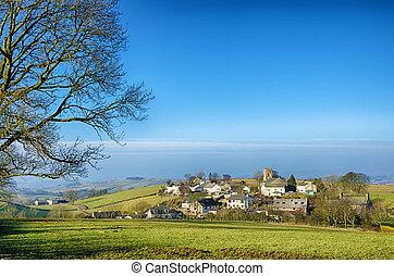 grayrigg, aldea, en, cumbria