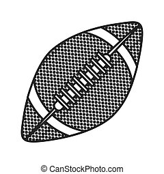 grayscale background with football ball
